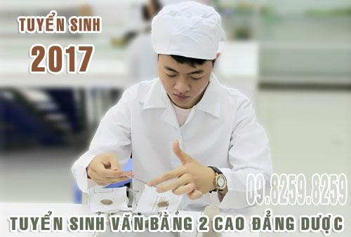 Tuyển sinh Văn bằng 2 Cao đẳng Dược Hà Nội năm 2017