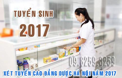 Xét tuyển Cao đẳng Dược Hà Nội năm 2017