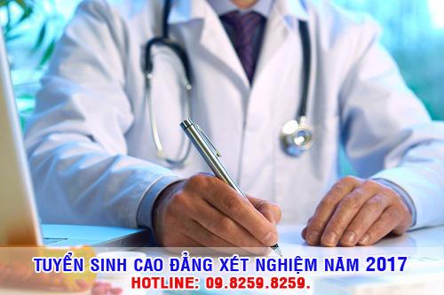 Cao đẳng Xét nghiệm Hà Nội tuyển sinh