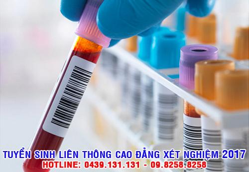 Tuyển sinh liên thông cao đẳng kỹ thuật xét nghiệm
