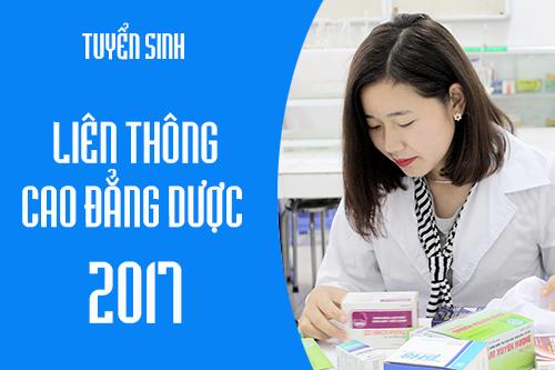 Hồ sơ học liên thông Cao đẳng Dược năm 2017