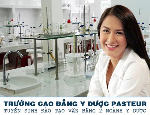 Trường Cao đẳng Y Dược Pasteur đào tạo Văn bằng 2 ngành Dược