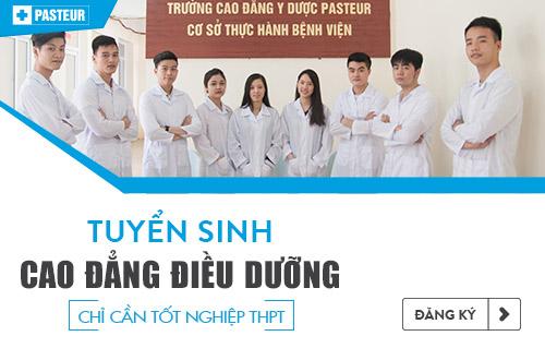 Thông tin tuyển sinh Cao đẳng Điều dưỡng năm 2018