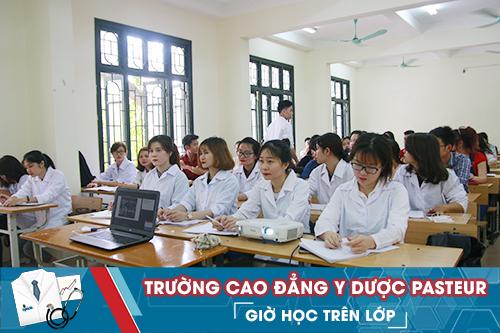 Lớp Văn bằng 2 Cao đẳng Dược ngoài giờ hành chính tại Trường Cao đẳng Y Dược Pasteur