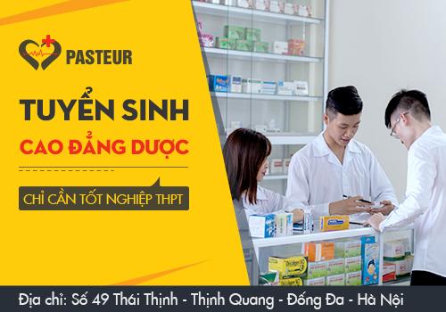 Tổng hợp địa chỉ xét tuyển Cao đẳng Dược năm 2018 tại Hà Nội