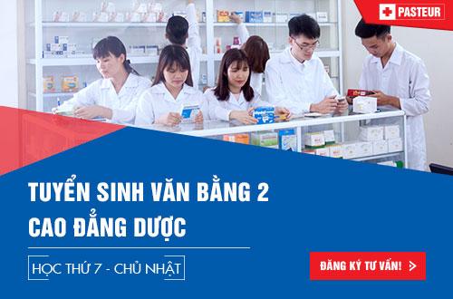 Địa chỉ nộp hồ sơ học Văn bằng 2 Cao đẳng Dược Hà Nội 2018