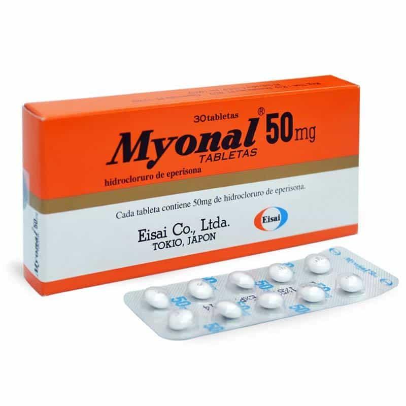 Hướng dẫn liều dùng và cách sử dụng thuốc Myonal 50mg