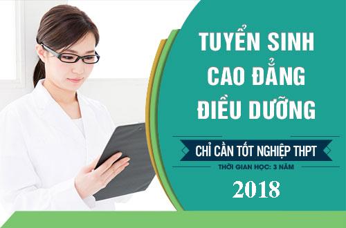 Địa chỉ tuyển sinh Cao đẳng Điều dưỡng chỉ cần tốt nghiệp THPT