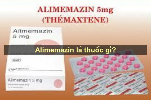 Thận trọng khi dùng Thuốc Alimemazin chống dị ứng
