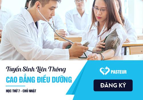 Tuyển sinh Liên thông Cao đẳng Điều dưỡng năm 2018 tại Hà Nội