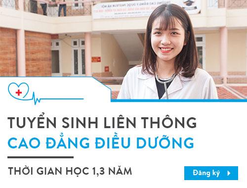 Tuyển sinh liên thông Cao đẳng Điều dưỡng Hà Nội năm 2018