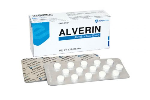 Cẩm nang kiến thức về thuốc Alverine Citrate 40mg