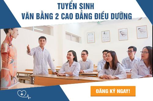 Học phí Văn bằng 2 Cao đẳng Điều dưỡng Hà Nội năm 2018 dự kiến giảm sâu