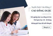 Thời gian tuyển sinh Văn bằng 2 Cao đẳng Dược Hà Nội năm 2018
