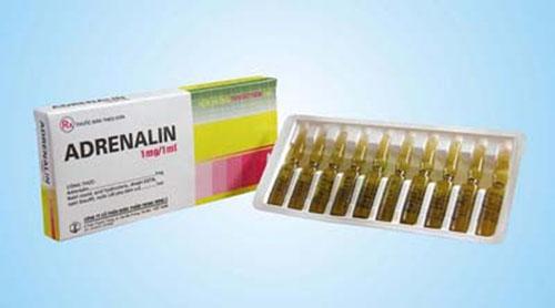 Thông tin về thuốc Adrenalin