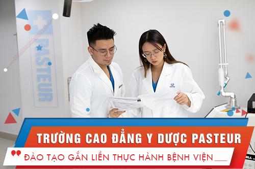 Trường Cao đẳng Y Dược Pasteur cam kết đào tạo sinh viên có chất lượng cao