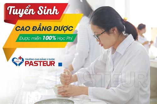 Tuyển sinh Cao đẳng Dược tại Trường Cao đẳng Y Dược Pasteur năm 2018