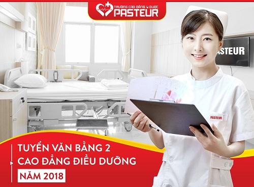 Cách làm thủ tục đăng ký học Văn bằng 2 Cao đẳng Điều dưỡng Pasteur