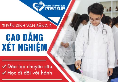 Phạm vi tuyển sinh Văn bằng 2 Cao đẳng Xét nghiệm Y học Hà Nội