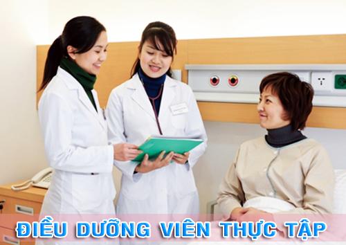 Điều dưỡng viên sẽ được tham gia thực tập tại các bệnh viện, cơ sở y tế