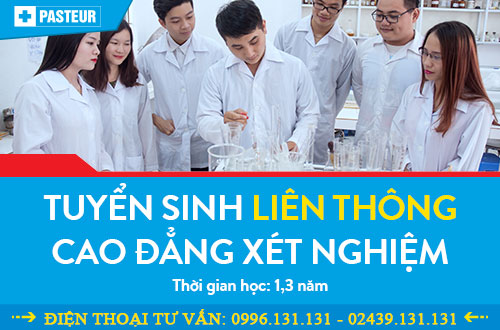 Tuyển sinh liên thông Cao đẳng Xét nghiệm Hà Nội năm 2018