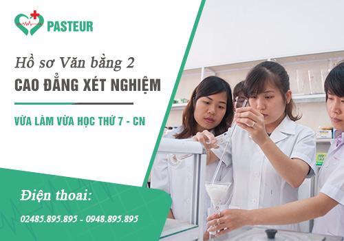 Hồ sơ tuyển sinh Văn bằng 2 Cao đẳng Xét nghiệm Hà Nội năm 2018