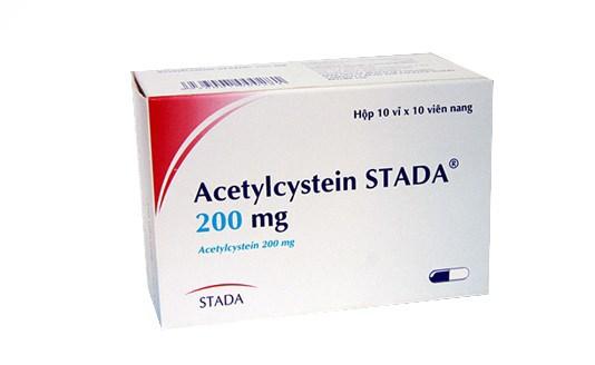 Cách dùng thuốc acetylcysteine 200mg an toàn
