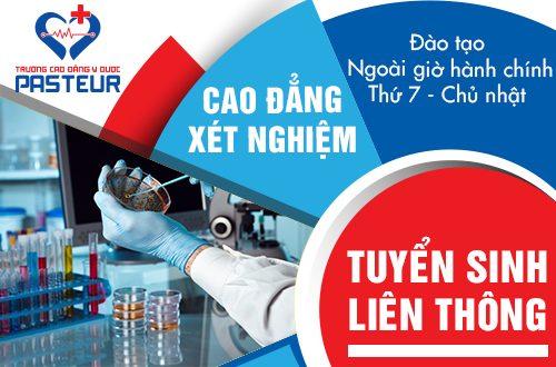 Hồ sơ tuyển sinh Liên thông Cao đẳng Xét nghiệm Y học tại Hà Nội năm 2019