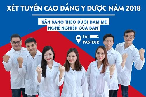 Trường Cao đẳng Y dược Pasteur nơi biến ước mơ nghề nghiệp thành hiện thực