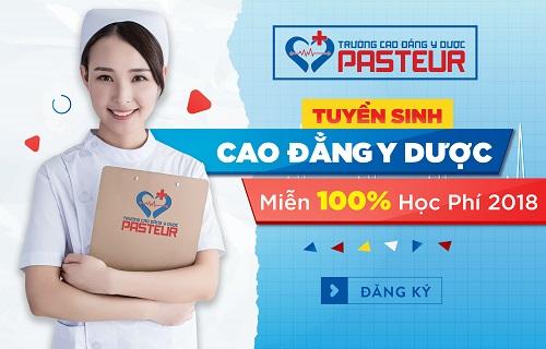 Trường Cao đẳng Y dược Pasteur tuyển sinh thông qua học bạ THPT