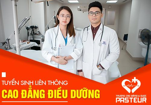 Trường Cao đẳng Y Dược Pasteur thông báo tuyển sinh Liên thông Cao đẳng Điều dưỡng học tại Hà Nội