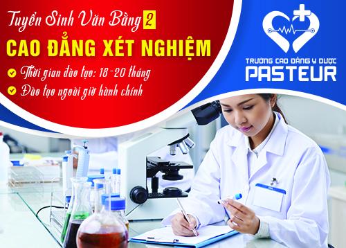 Tuyển sinh Văn bằng 2 Cao đẳng Xét nghiệm Hà Nội năm 2019