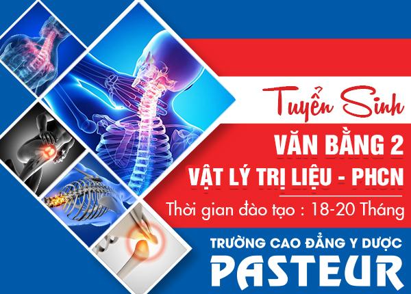 Đào tạo văn bằng 2 Cao đẳng Vật lý trị liệu tại Hà Nội.