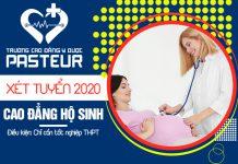 Xét tuyển Cao đẳng hộ sinh năm 2020