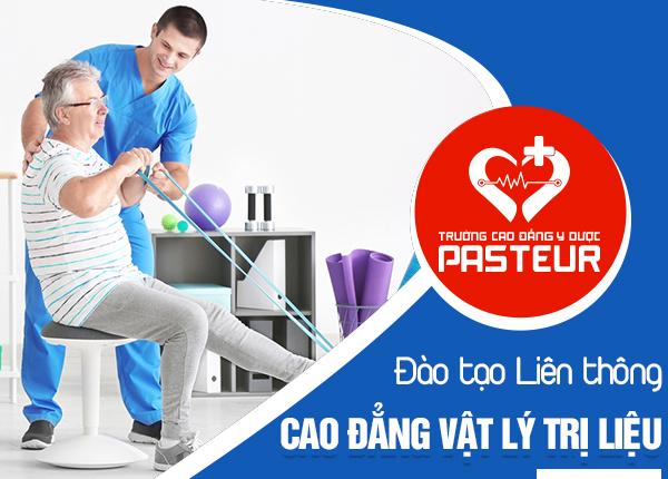 Đào tạo liên thông Cao đẳng Vật lý trị liệu Pasteur năm 2020
