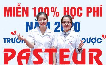 Thông báo miễn 100% học phí năm 2020 cho thi sinh xét tuyển Cao đẳng Dược