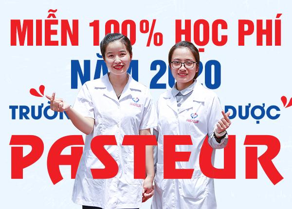 Miễn 100% học phí Cao đẳng Dược năm 2020