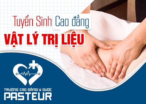Tuyển sinh Cao đẳng Vật lý trị liệu hệ 2 năm tại Hà Nội