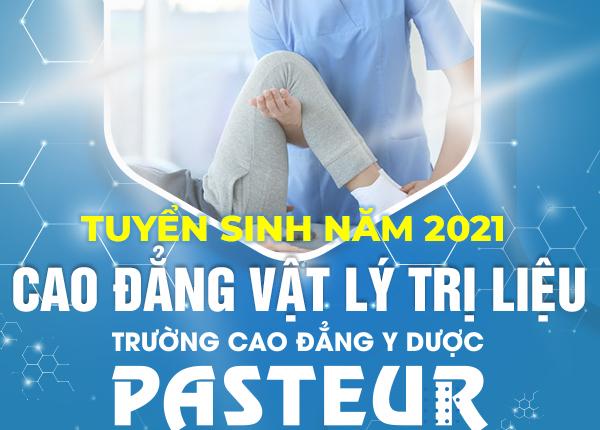 Tuyển sinh Cao đẳng Vật lý trị liệu năm 2021 trên cả nước