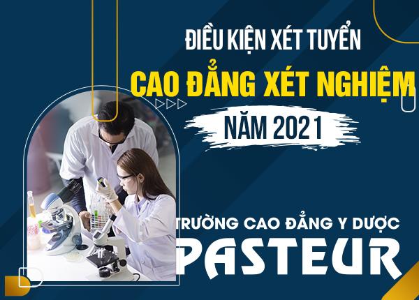 Tuyển sinh Cao đẳng Xét nghiệm năm 2021